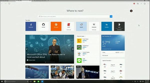 """ลาก่อน IE ! แทนด้วย """"Microsoft Edge"""""""