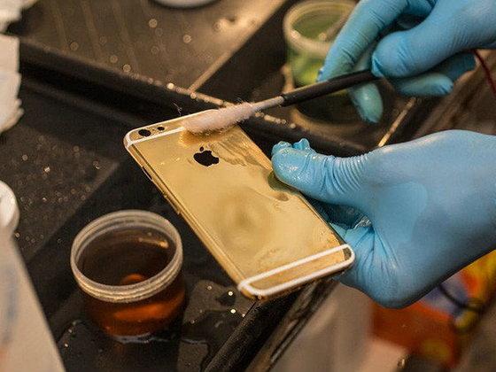 กว่าจะมาเป็น iPhone 6 เคลือบทองคำแท้ มีขั้นตอนอย่างไรมาดูกัน!