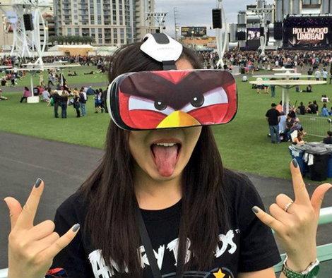 Angry Birds เผย Demo ล่าสุด เล่นเกมร่วมกับแว่นตาจำลองโลกเสมือนจริง