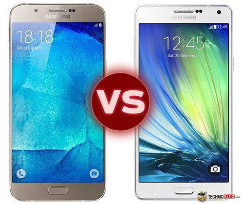 เปรียบเทียบสเปค Samsung Galaxy A8 vs Samsung Galaxy A7 รุ่นไหนสเปคโดนใจกว่า มาดูกัน