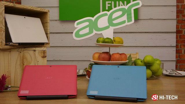 สัมผัสแรกกับ Acer  Notebook 4 รุ่น Hot พร้อมจำหน่ายในประเทศไทย