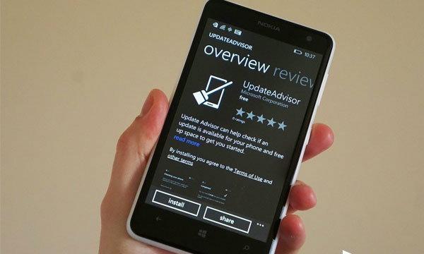 ไมโครซอฟท์ปล่อยแอพ UpdateAdvisor ช่วยเตรียม Windows Phone ให้พร้อมก่อนรับอัพเดท