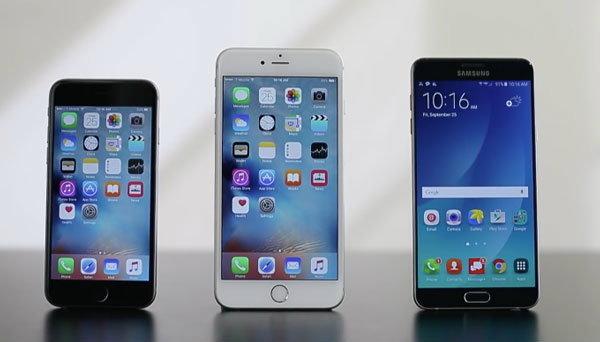 ทดสอบแล้ว! iPhone 6S แข็งแรงกว่า Samsung Galaxy Note 5 แต่กลับเจอปัญหาตัวเครื่องร้อนกว่าถึง 2 เท่า