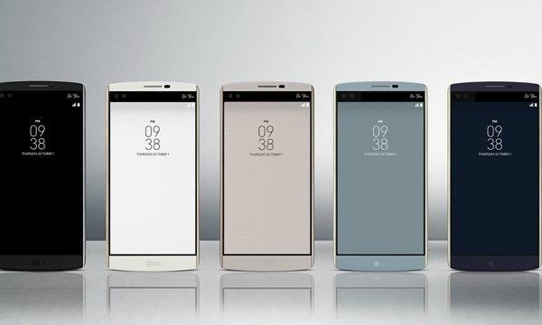 LG V10 เปิดตัวแล้วพร้อมกับ มือถือ 2 จอและ 2 กล้องหน้า และถึกครั้งแรกของ LG