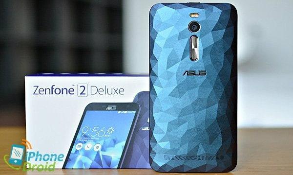 รีวิว ASUS ZenFone 2 Deluxe ฝาหลังลายคริสตัล พื้นที่จัดเก็บรวมสูงสุด 256GB