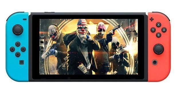 เกมปล้นถล่มเมือง Payday2 ประกาศลง Nintendo Switch
