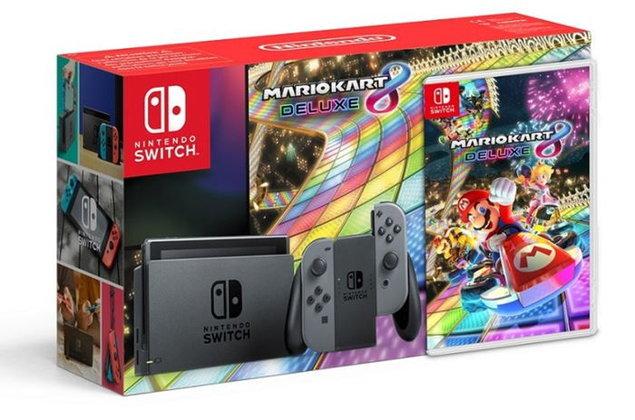 คอเกมเซ็ง Nintendo Switch ชุดพิเศษพร้อมเกม Mario Kart 8 ขายเฉพาะที่รัสเซียเท่านั้น