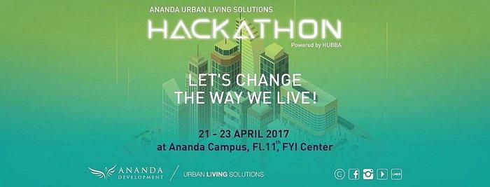 "Ananda จัดงาน Hackathon ""Urban Living Solutions Hackathon"" เน้นคิดเพื่ออำนวยชีวิตคนเมือง"