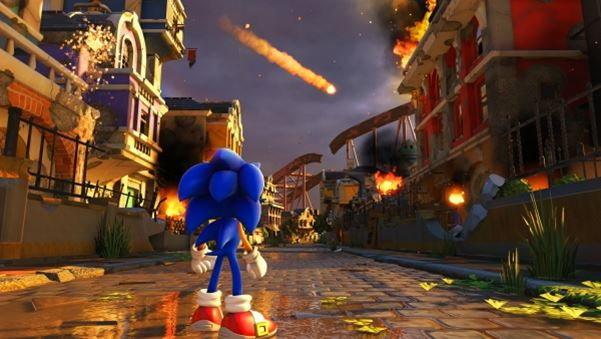 ชมภาพใหม่เกม Sonic Forces เกมเม่นสายฟ้าภาคใหม่บน PS4 , XboxOne , Ninendo Switch