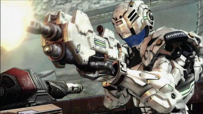 พบภาพของเกม Vanquish ในการอัพเดทล่าสุดของเกม Bayonetta บน PC