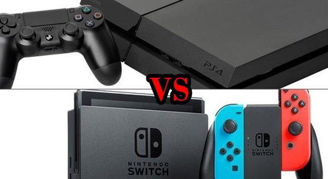 มาดูยอดขาย PS4 เทียบกับ Nintendo Switch ว่าใครจะขายดีกว่ากันในญี่ปุ่น