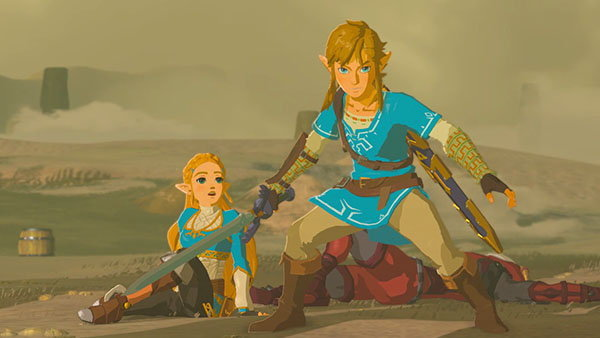 นินเทนโดเปิดข้อมูลตัวดาวน์โหลดเสริมเกม Zelda: Breath of the Wild !!