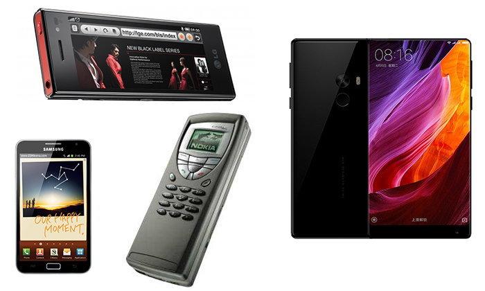 ย้อนอดีตมือถือจอใหญ่และยาว ก่อนยุคของ Galaxy S8