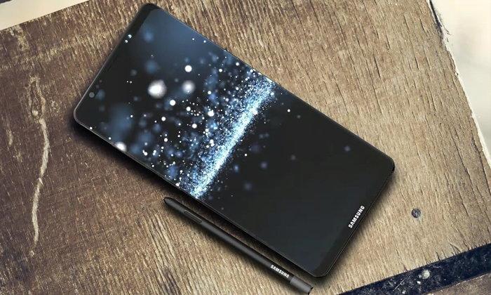 Samsung Galaxy Note8 กับคอนเซ็ปต์หน้าจอไร้ขอบโฉมใหม่ใหญ่เต็มตา 6.4 นิ้ว
