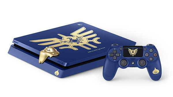 Sony ประกาศยอดส่ง PS4 เกิน 60 ล้านแล้ว พร้อมเปิด PS4 ลายพิเศษจากเกม Dragon Quest
