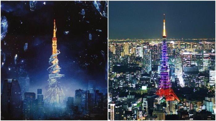ชมภาพ โตเกียว ทาวเวอร์ ที่กลายเป็นฉากในเกม Final Fantasy