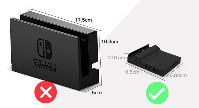 ชมแท่น Dock ของ Nintendo Switch ที่ไม่ทำหน้าจอเป็นรอย