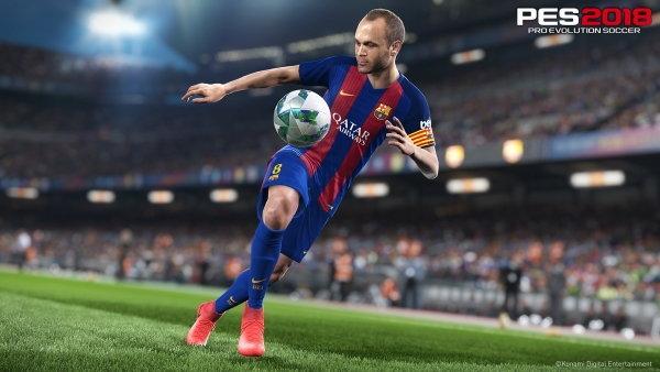 Konami เปิดตัวเกม Pro Evolution Soccer 2018 (วินนิ่ง) ภาคใหม่บนคอนโซล และ PC