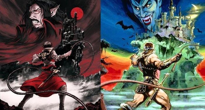 ชมใบปิดแรกการ์ตูนซีรีส์จากเกม Castlevania ทางช่อง Netflix ที่เหมือนกับภาคแรกบนแฟมิคอม