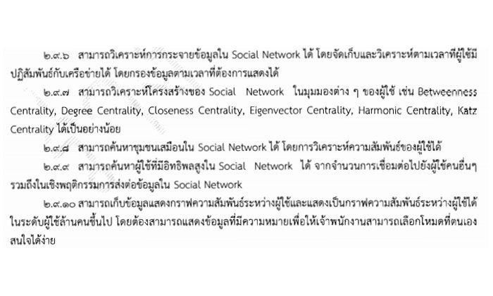 กระทรวงดีอีจัดซื้อระบบเก็บข้อมูลจาก Social Network มูลค่า 28 ล้าน