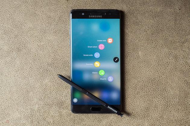 เผยภาพเครื่อง Samsung Galaxy Note 7R พร้อมจุดที่แตกต่างจากเครื่องเดิม