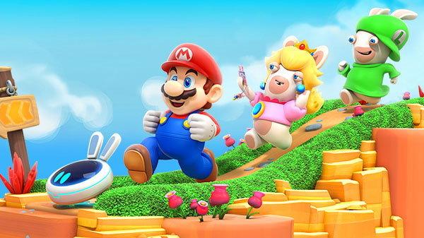 เปิดตัวเกม Mario  Rabbids Kingdom Battle มาริโอมาเจอกับกระต่ายจอมป่วนบน Nintendo Switch
