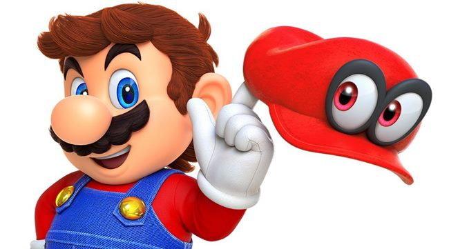 เกม Super Mario Odyssey จะมีโหมดช่วยกันเล่น 2 คนพร้อมกัน