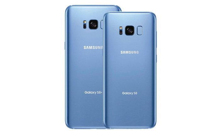เผยภาพ Samsung Galaxy S8 และ S8+ สี Blue Coral พร้อมขายใน อเมริกา