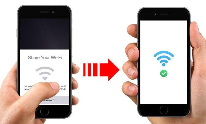 iOS 11 แชร์รหัส Wi-Fi ได้สะดวกขึ้นกับ Share Your Wi-Fi ฟีเจอร์ลับบน iOS 11