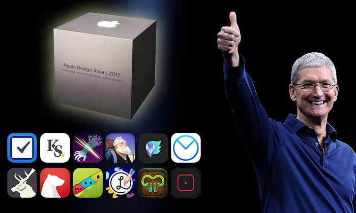 แอปเปิล ประกาศ 12 สุดยอดแอปฯ ดีไซน์เด่น พ่วงนวัตกรรมสุดเจ๋ง (Apple Design Awards 2017)