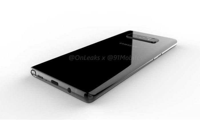 หลุดภาพ Render จำลอง Samsung Galaxy Note 8 ก่อนเจอกันอีกไม่นาน