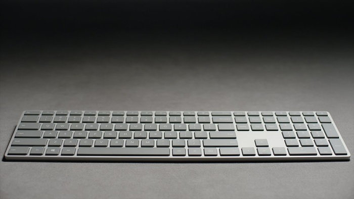 Microsoft เปิดตัวคีย์บอร์ดแบบใหม่ที่ซ่อนตัวสแกนลายนิ้วมือเอาไว้