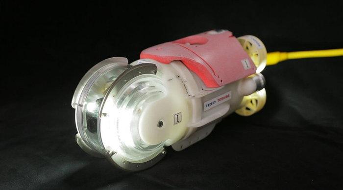 ภารกิจสำรวจโรงไฟฟ้าฟุกุชิมะหลังภัยนิวเคลียร์ของหุ่น ปลาแสงอาทิตย์น้อย