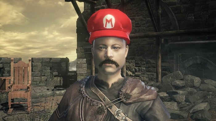 มาดูคลิปเกม Super Mario Odyssey ที่มารวมร่างกับ Dark Souls 3