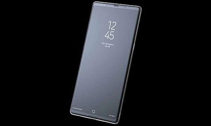 หลุดหน้าจอแรกของ Samsung Galaxy Note 8 คล้ายกับ Galaxy S8 นิดหน่อย