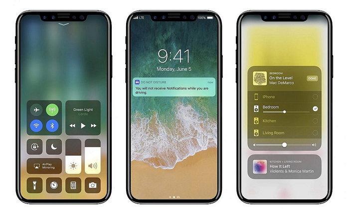 Apple ตัดสินใจดีไซน์ iPhone 8 ได้แล้ว ไม่น่าเกลียดอย่างที่คิด