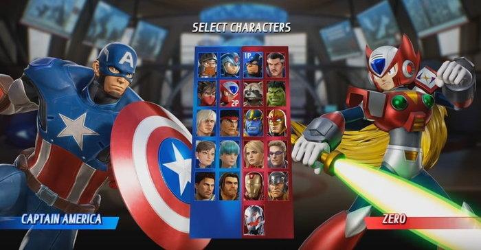 เปิดรายชื่อตัวละครในเกม Marvel vs Capcom Infinite