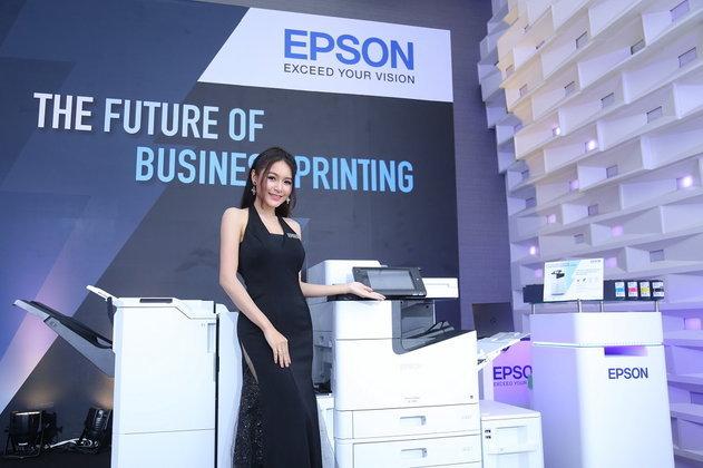 Epson เสริมทัพอิงค์เจ็ทพรินเตอร์ความเร็วสูง มั่นใจเทคโนโลยีหัวพิมพ์ Micro Piezo