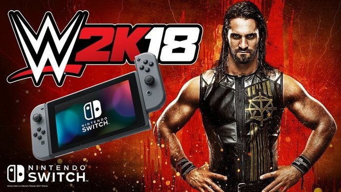 เกมมวยปล้ำ WWE 2K18 บน Nintendo Switch จะเป็นเวอร์ชั่นเดียวกับเครื่องเกมรุ่นใหม่