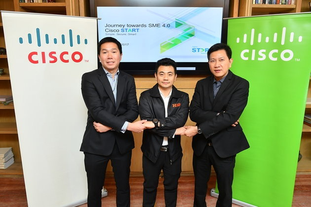 Cisco สนับสนุนการดำเนินธุรกิจของเอสเอ็มอี และธุรกิจขนาดกลางในเอเชียแปซิฟิก