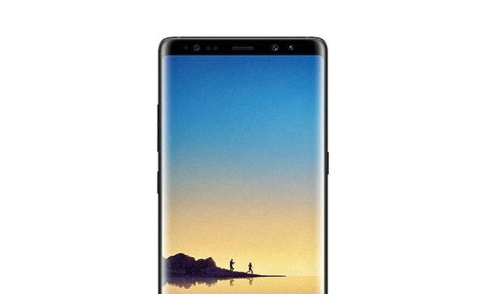 เจ้าพ่อข่าวหลุดปล่อยภาพ Samsung Galaxy Note 8 สี Midnight Black เหมือนกับ S8 แต่เหลี่ยมขึ้น
