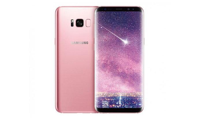 Samsung ประเทศไทย วางขาย Galaxy S8+ สี Pink Gold ล่าสุดราคาเดิม