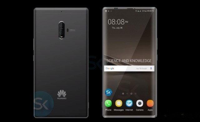 Huawei ยื่นจดทะเบียนการค้าหน้าจอไร้ขอบในชื่อ EntireView Display จ่อประเดิมใช้ในเรือธง Mate 10