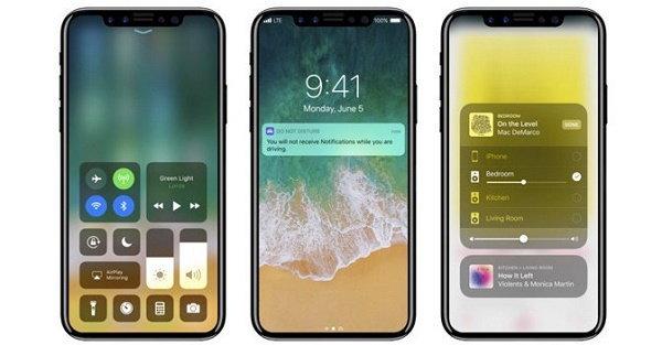 iPhone 8 จะมีหน้าจอที่ คมบาดตา อยู่ที่ 1125 x 2436 พิกเซล