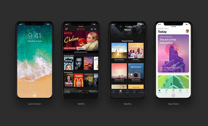 มาดูกันว่า Instagram Netflix และแอปอื่นๆ บน iPhone 8 จะมีหน้าตาอย่างไร