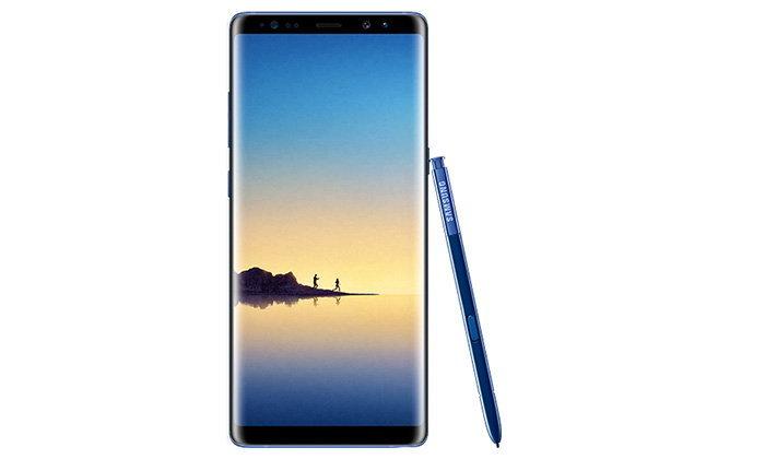 หลุด Samsung Galaxy Note 8 สี Deep Blue จากเจ้าพ่อข่าวลือมือถือชื่อดัง