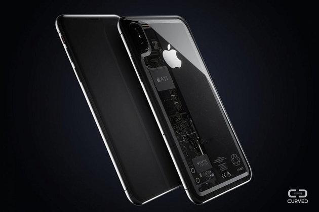 เรียกน้ำย่อย ยลโฉมคอนเซ็ปต์ iPhone 8 สุดล้ำฝาหลังโปร่งแสงงามหยด