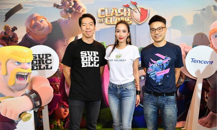 """""""อั้ม พัชราภา"""" ร่วมฉลองครบ 5 ปี เกม 'Clash of Clans' พร้อมเปิดตัวภาคภาษาไทย"""