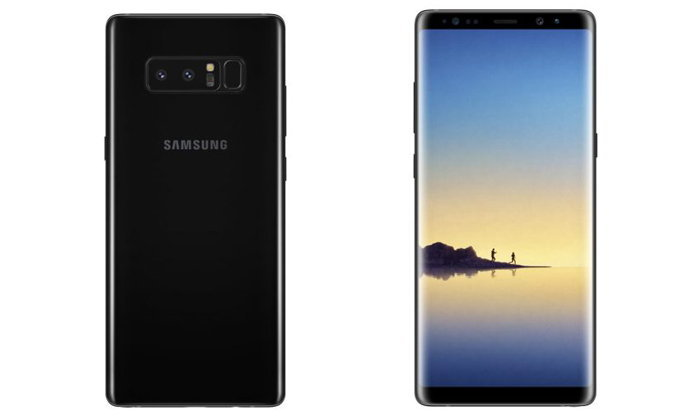 เผยภาพ Render ของ Samsung Galaxy Note 8 สีเทา Orchid Gray สวยงามตามท้องเรื่อง