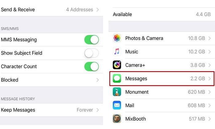 วิธีลบข้อความเก่า ๆ ออกจาก iPhone ให้ได้พื้นที่คืนมาเพียบ !!